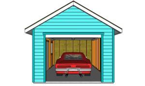 воздушный солнечный коллектор в гараже