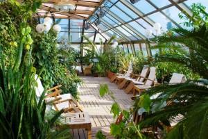какое отопление должно быть в зимнем саду
