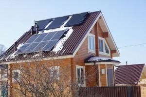 воздушный солнечный коллектор в частном доме