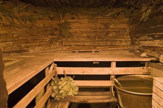 влажность в бане повышена