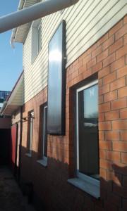 воздушный солнечный коллектор для коттеджа