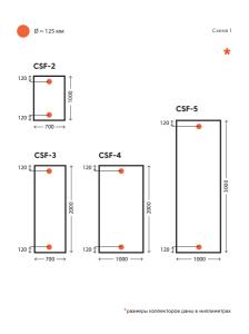 Инструкция по установке солнечного коллектора CSF