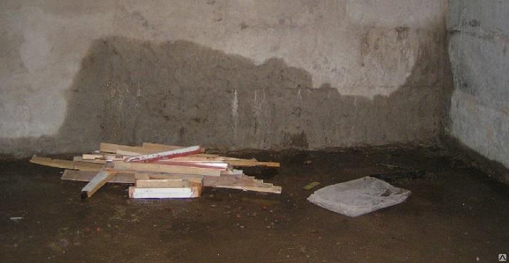 Сырость в подвале многоквартирного дома