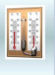 измерение влажности воздуха