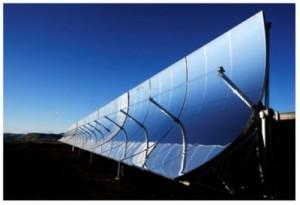 солнечный коллектор с концентраторами