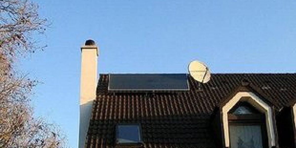 Воздушный солнечный коллектор для чердака