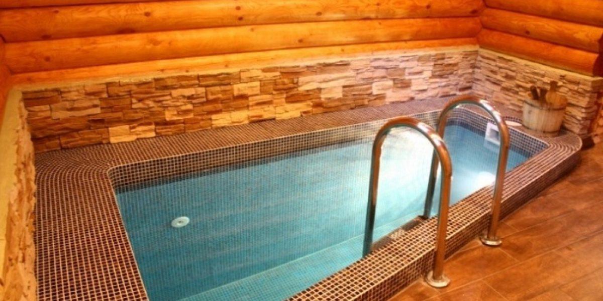 бассейн с обогрeвом