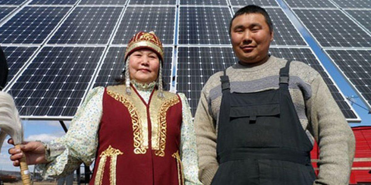солнечная станция в Якутии