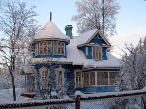 отопление дачи зимой