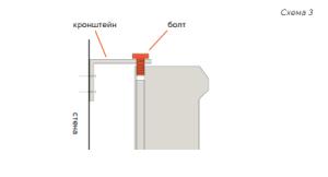 схематическое изображение монтажа прибора Solar Fox