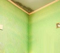 мокнет стена в доме